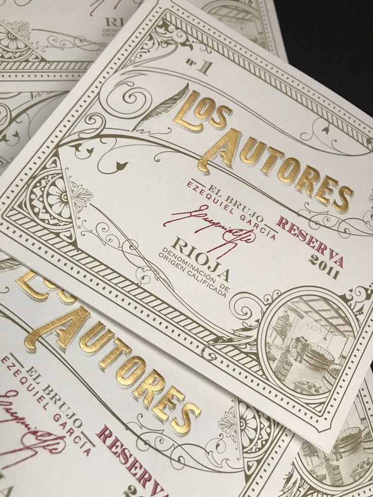 Los Autores es una serie limitada de maestros enólogos. Edición n.1 con la firma de Ezequiel García.