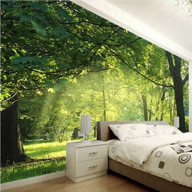 Wallpapers Of The Highest Quality Choose From One Of Our 3d Wallpapers Custom Photo Wallp Wallpaper Walls Bedroom Wallpaper Bedroom Bedroom Wallpaper Nature