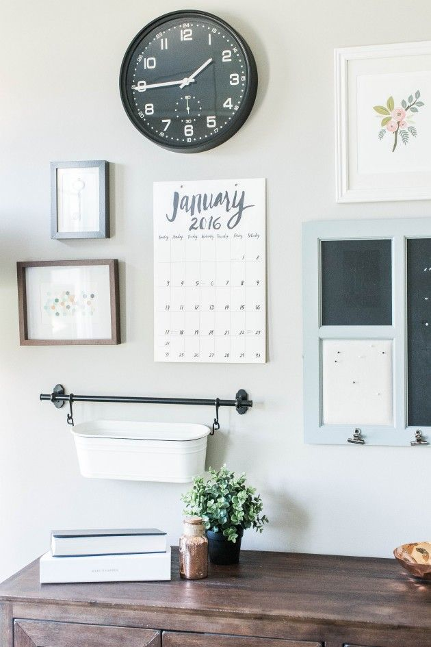 Hang bin on wall to keep stuff off of the desk.  View More: http://jordanmaunder.pass.us/small-things