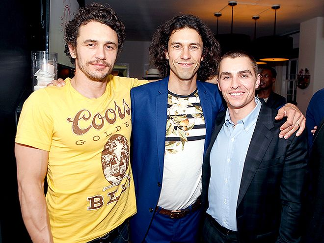 "Star Tracks: Tuesday, May 10, 2016 | FRANCOS TRIPLED |  James Franco, Tom Franco and Dave Franco attend ""the Art of Elysium presents Tom Franco"" in Los Angeles on Saturday."