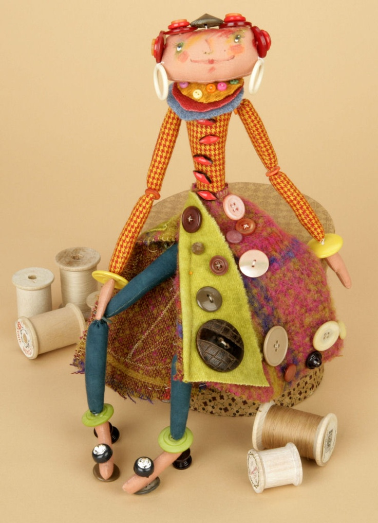 Cloth Doll Patterns by elinor peace bailey