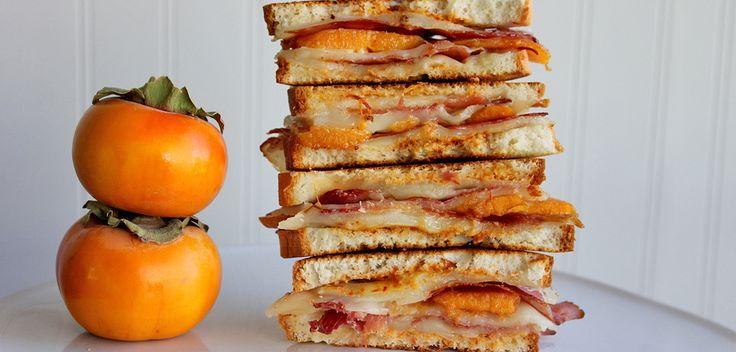 Что приготовить из хурмы: полезный и аппетитный сэндвич