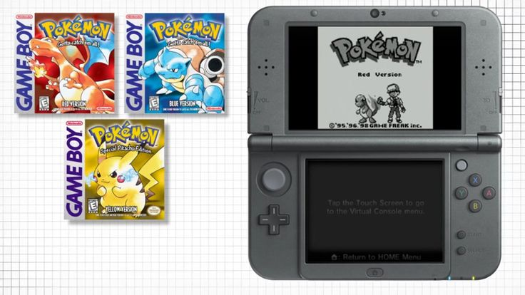 Pokémon Red Blue Yellow to Release on Virtual Console  nintendo Nintendo News