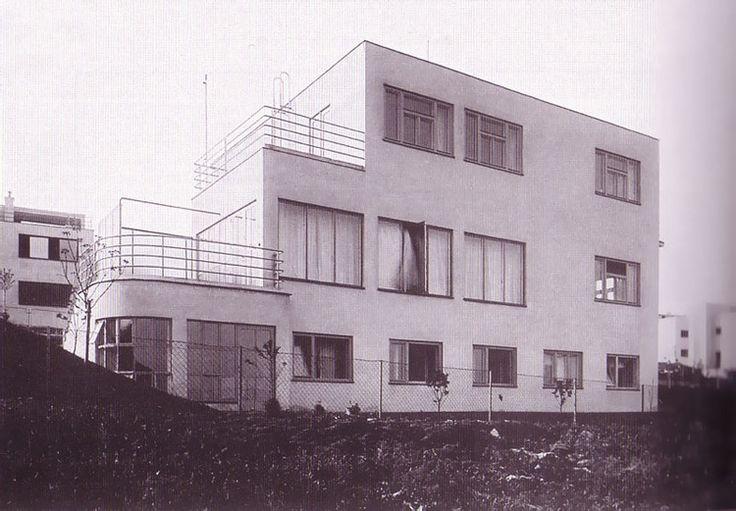 Villa Špíšek, Ladislav Machoň, Prague, Czechoslovakia 1932