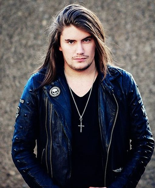 Andre Linman Mens Long Hair Pinterest D Finland And