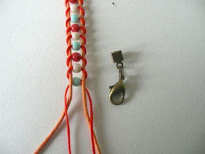 Petit bracelet acidulé à faire soi-même | Typebraceletscom