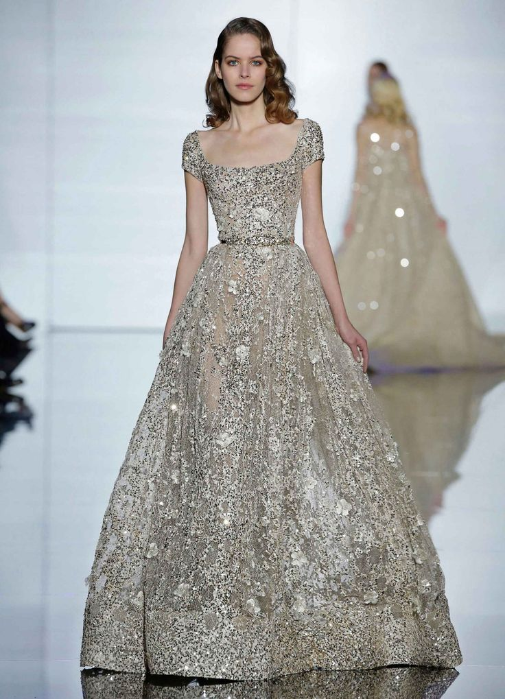 Couture Spring 2015. (This is easily one of the most beautiful dresses I've ever seen!)