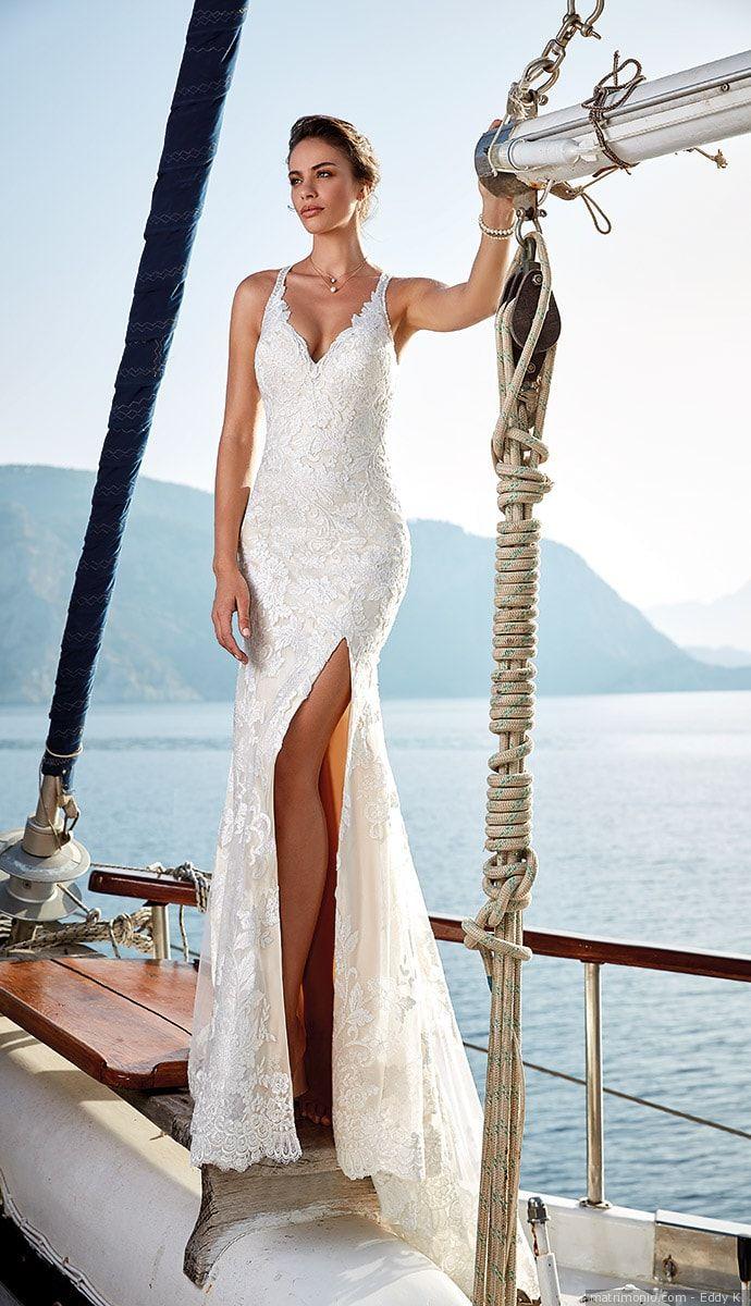 Abiti da sposa Eddy K  50 modelli romantici e sognanti per un look alla moda   matrimonio  nozze  sposi  sposa  abitodasposa  scattisposa  fotosposa ... fe07ec24b91