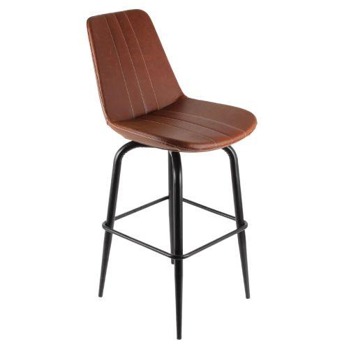 360 derece döner hareketli bar sandalyesi Döşeme renk alternatifleri beyaz-kırmızı-siyah-kahverengi fiyatları için tıklayınız. metal bar sandalyeleri ve...
