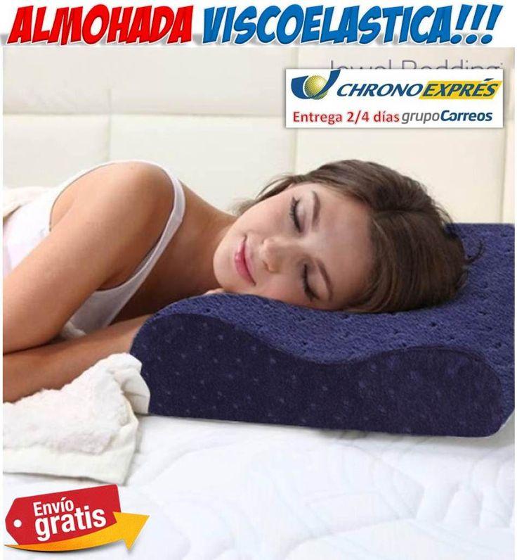 #regalos #regalosoriginales #hogar #ofertas #descuentos #yougamebay #salud #belleza Almohada viscoelastica para dolores musculares, de espalda y cervicales. Almohadas medicinales para dormir bien. http://www.yougamebay.com/es/list/category/cuidado_e_higiene_personal