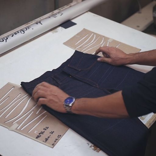See how Mott & Bow jeans are made!