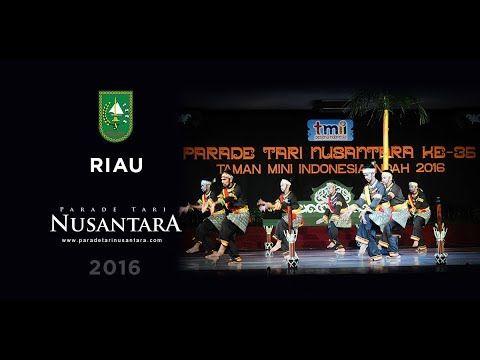 Parade Tari Nusantara 2016 : Togak Balok Kumantan Godang, Riau