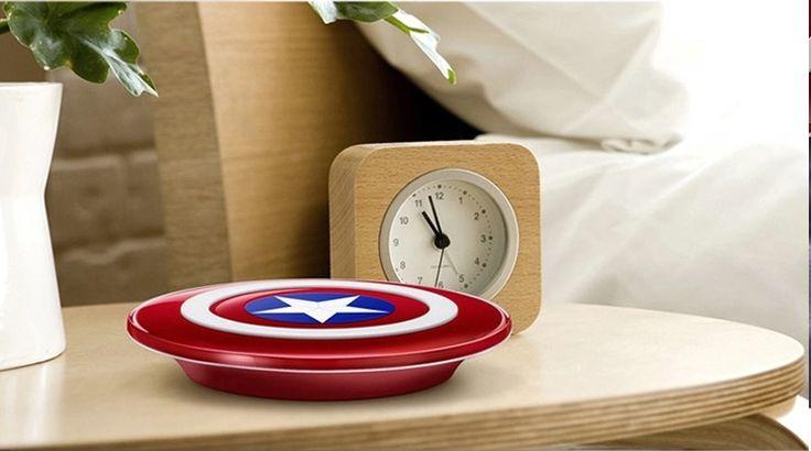 Captain America Shield Qi Wireless Charger  //Price: $10.99 & FREE Shipping //   http://www.themarvelworld.com/captain-america-shield-qi-wireless-charger/    #marvel #marveluniverse #marvelfans #marvelcomics #comics #comicbooks  #avengers #ironman #captainamerica #thor #hulk #spiderman #civilwar   #blackpanther #warmachine #scarletwitch #hero #superhero #villain #mu #mcu   #doctorstrange #deadpool #meme #teamcap #teamstark #teamironman   #captainamericacivilwar #marvelfact #marvelfacts #fact…