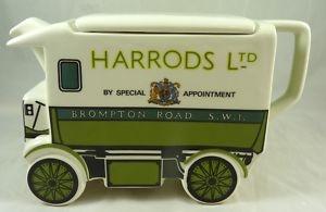 1919  Harrods Van ~  'Walker Electric Van Teapot' by James Sadler ~ The old James Sadler teapots are collectible collectables..he he