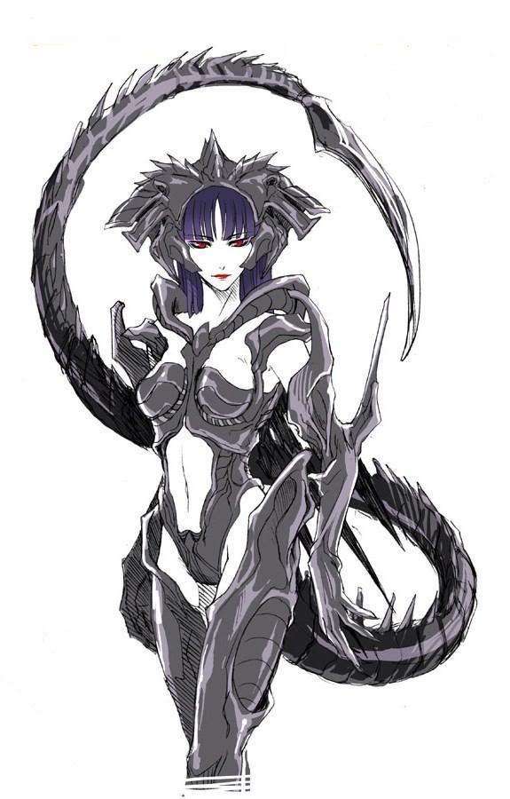 Yandere Female Xenomorphs x Futa!Half Xenomorph! Fem!Reader