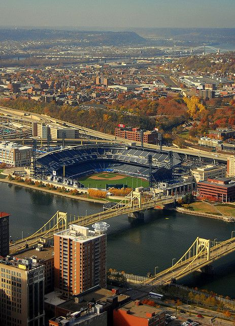 aerial:  pnc park; 2001-    :  pittsburgh pirates