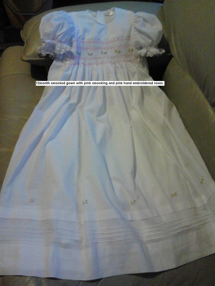 smocked gowns 0427820744