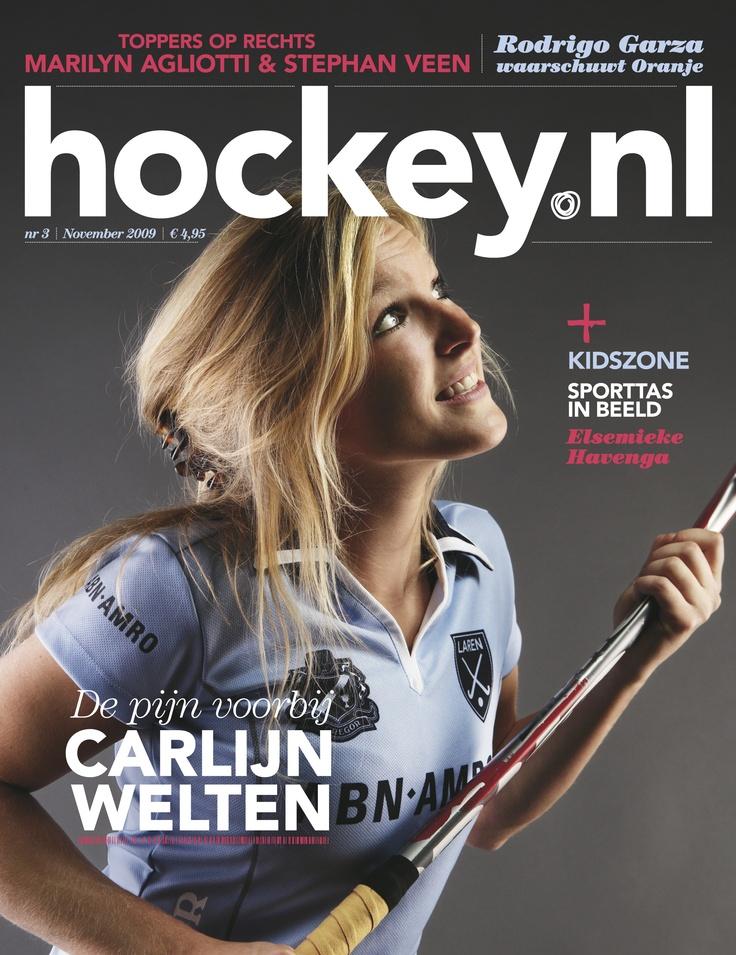 Carlijn Welten Carlijn Welten De pijn voorbij Hockeynlcovers