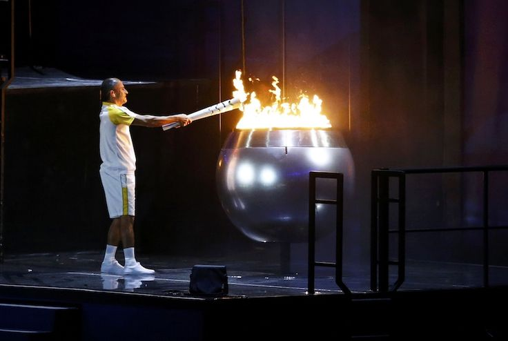 rio olympics 2016 churches | ... Olympic cauldron at the opening ceremony at…