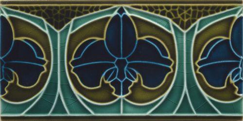 Tapeten Historische Motive : Golem Kunst- und Baukeramik GmbH Borders, base tiles and trim pieces