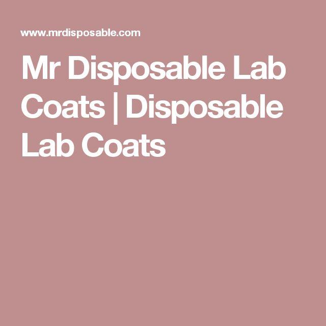 Mr Disposable Lab Coats | Disposable Lab Coats