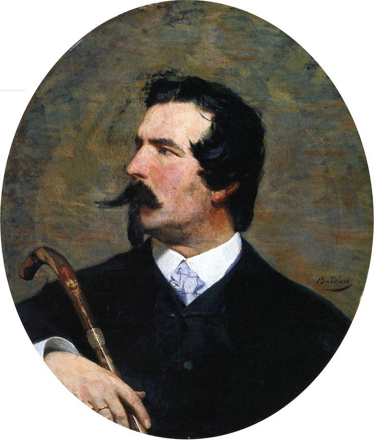 Πορτρέτο του ζωγράφου Cristiano Banti (1865)