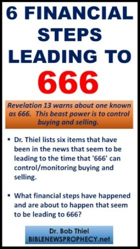 Financial steps leading to 666