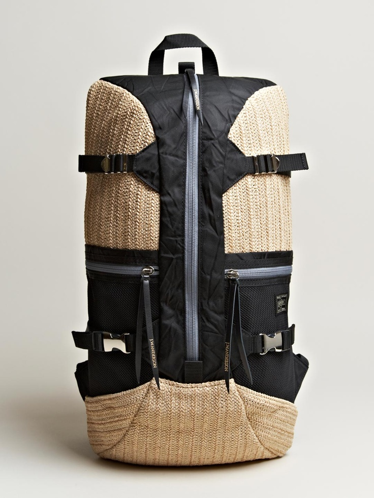 J.W. Anderson x Porter men's Multi Panel Backpack