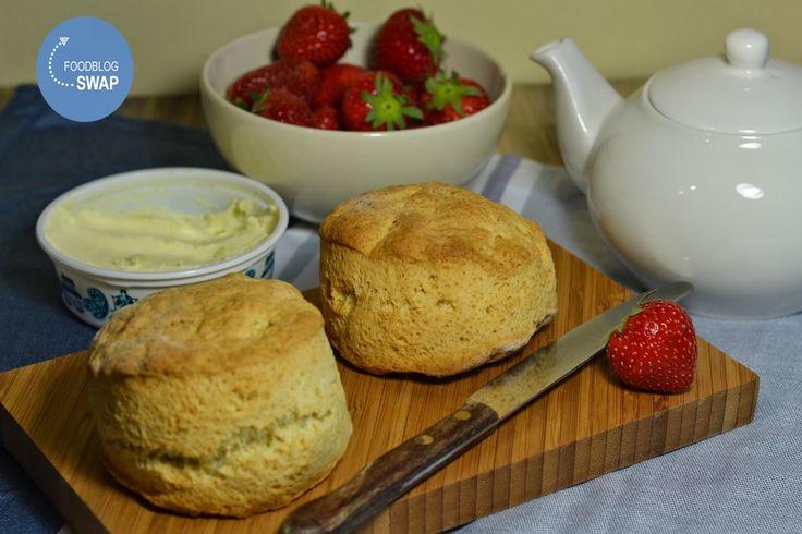 Duizenden1dag: Scones met aardbeien (foodblogswap)