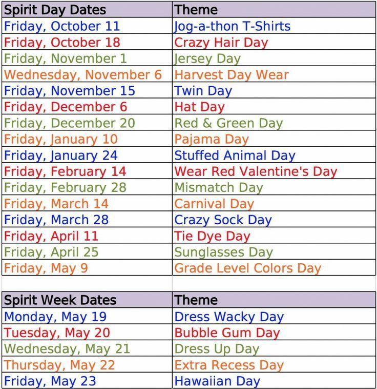 1000+ Spirit Week Ideas on Pinterest | Spirit Week Themes ...