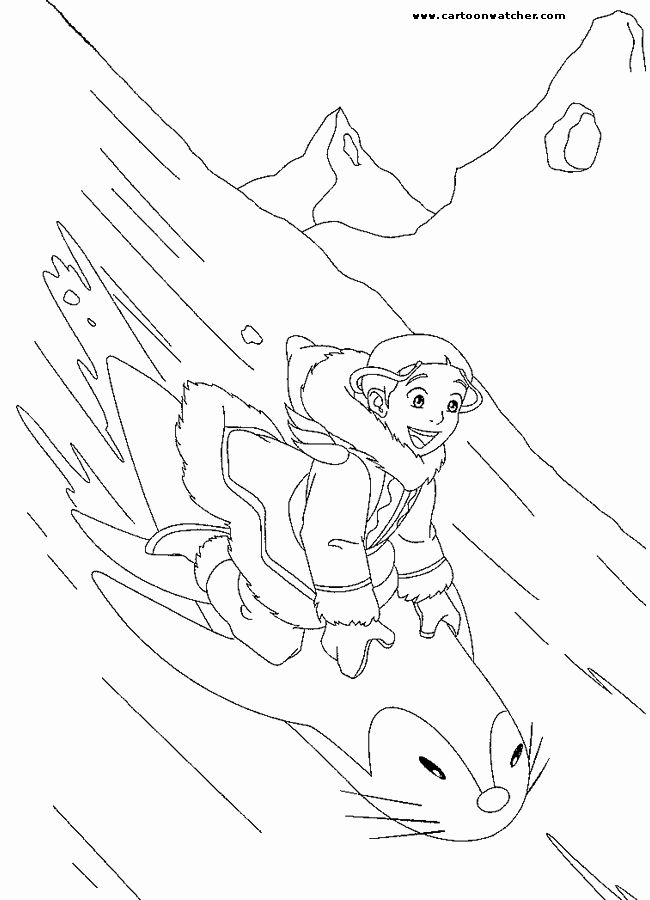 Avatar The Last Airbender Coloring Book New Avatar The Last Airbender Coloring Page Avatar The Last Airbender Art Cartoon Coloring Pages Mandala Coloring Pages
