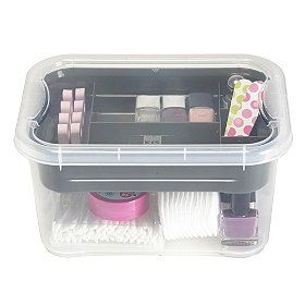 Tidy-Box from Lakeland for bobbins, thread, buttoms