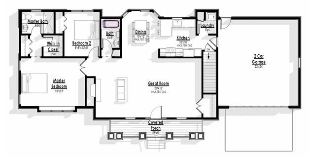 Best 25 commercial building plans ideas on pinterest for Backyard cottage floor plans