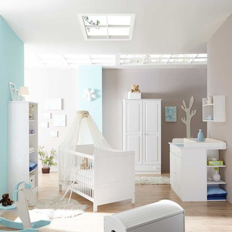 Fancy Massivholz Babyzimmer Wei Kiefer Sianner