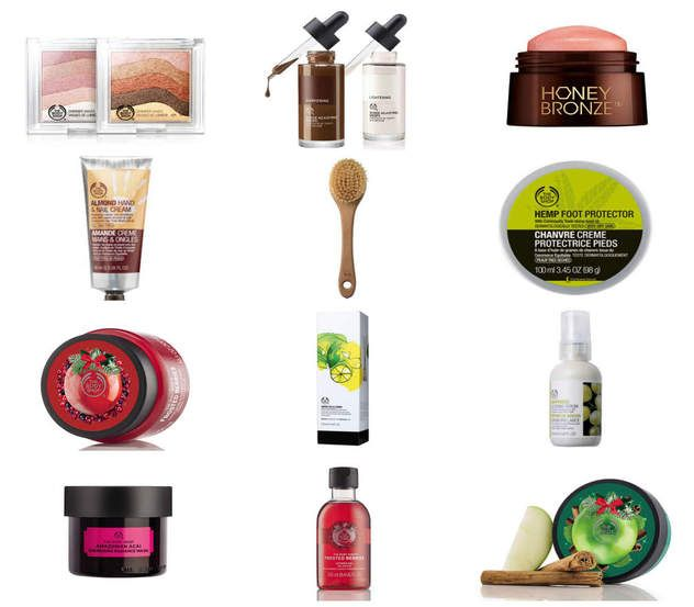 My favourite products from The Body Shop.  http://theauthenticgirl.com/the-body-shop/