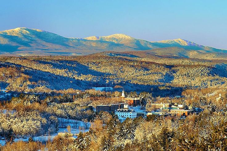 Norwich University - Northfield Mountain Range Northfield, VT is a small town in central Vermont. Norwich University is a military college and the institution where ROTC was first initiated.