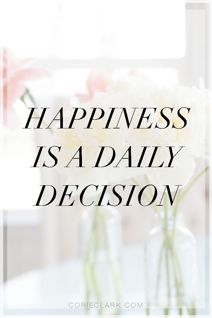 """Happiness is a daily decision. A guest post by Kerstin Lindquist who helps families speak openly about their struggles with infertility and adoption. An Emmy award winning broadcast news journalist and author of """"5 Months Apart: A Story of Infertility, Faith and Grace,"""" Her first job is mom of three, but she spends a good portion of her time as an on air host at QVC. via @CorieAClark"""