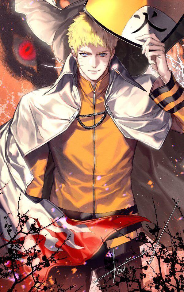 Uzumaki Naruto Hokage Sama Boruto Naruto Sasuke Sakura Naruto