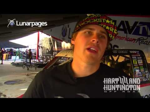 Hart and Huntington Offroadteam highlights from Ryan Beat and Rob Naughton in the Lucas Oil Offroad Racing Series Round 2. Ryan Beat talks about the struggle in Prolite and check out what trophy Rob Naughton walked away with in the Lunarpages Pro-2.