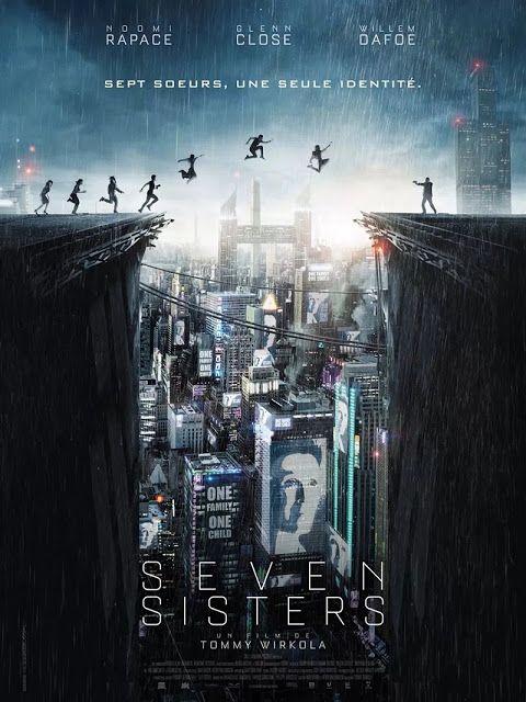 Noomi Rapace interpreta a Siete Hermanas en el film de ciencia ficción 'Seven Sisters'