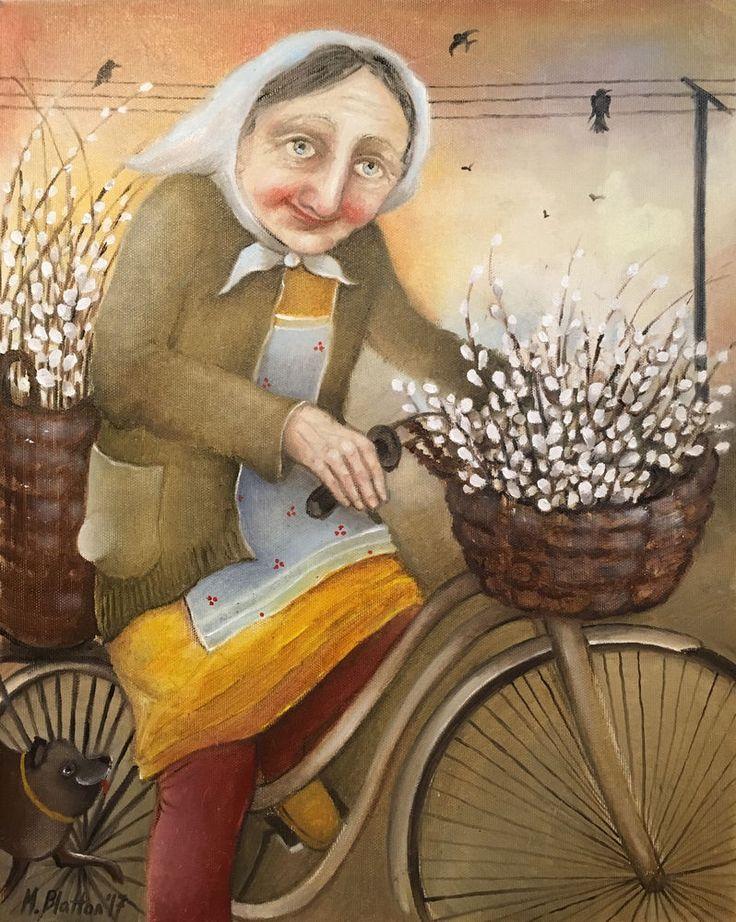 "BLATTON - ""SPRING"" #fineart #oilpainting #oilpaintingoncanvas #artist #artists #painter #painters #painting #paintings #oilpaintings #oiloncanvas #artwork #figurativeart #portrait #contemporaryart #modernart #dailypainting #Blatton #MonicaBlatton"