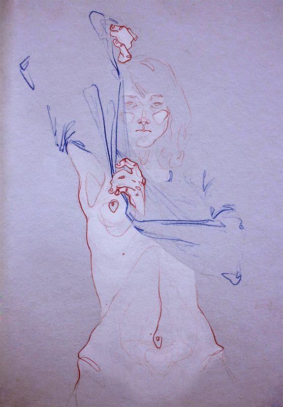Pencil and Watercolor Illustrations by Adara Sanchez 6 Adara Sanchez
