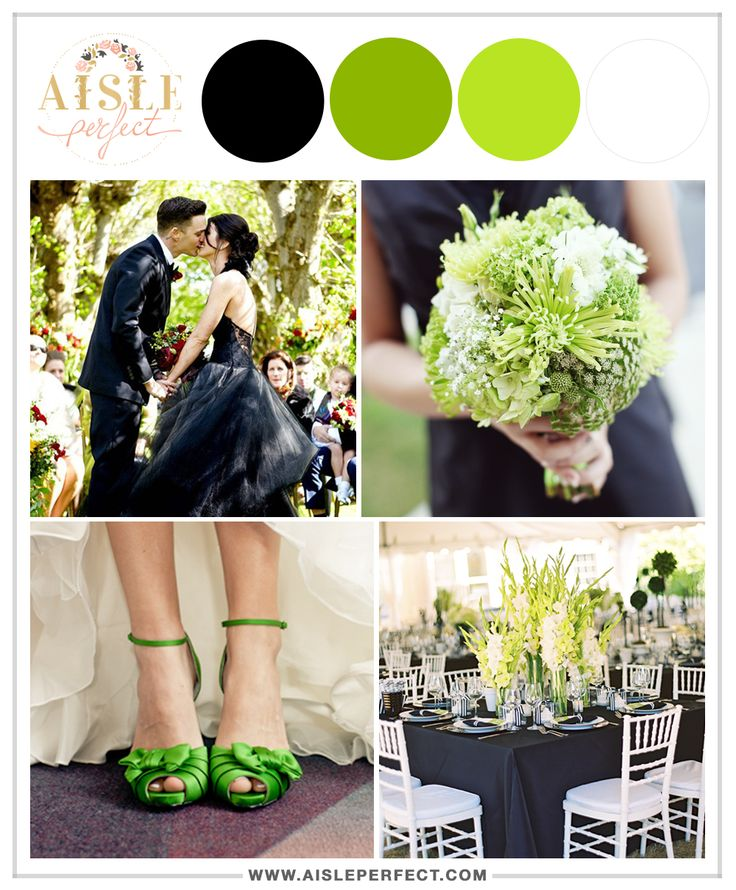 Four Unexpected Wedding Color Schemes That Actually Work