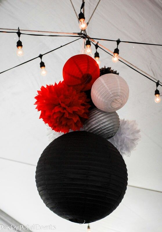 http://www.paisleypetalevents.com/2012/11/black-red-and-silver-40th-birthday-party/