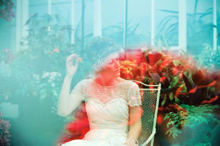 Double Exposure Wedding Photography On CineSill 50