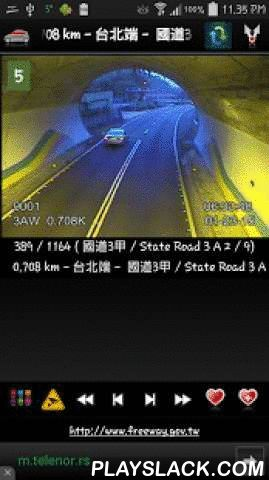 Cameras Taiwan - Traffic Cams  Android App - playslack.com ,  ★ Cameras Taiwan is free application that allow you to watch traffic cameras from Taiwan 中華民國★ Taipei and Taiwan traffic cameras 臺北市 臺灣 交通 攝像頭★ Application contains 1.000 cameras (CCTV, live images, webcams) in first release !!!Cameras are grouped in several groups by number of highway/road, part of Taipei and similar.We have also have some of the cameras for Taichung, Kaohsiung, Tainan, Hsinchu ..Cameras are mostly traffic…