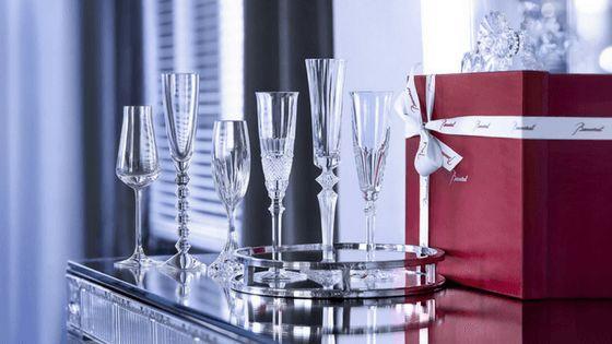 Des cadeaux de Mariage ou d'Affaires signés Baccarat !
