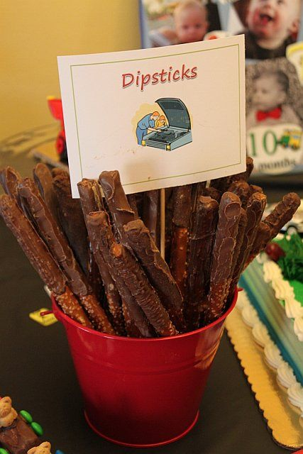 Car Party Dessert Ideas