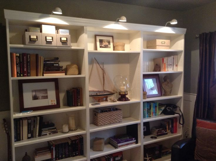 Bookcase Lights Ikea Repair Renew Re Pinterest Bookcases And