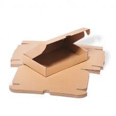 Poštovní kartonová krabice - otevřená